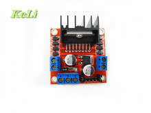 Free Shipping 5pcs/lot New Dual H Bridge DC Stepper Motor Drive Controller Board Module L298N for Ar-duino  TK0450
