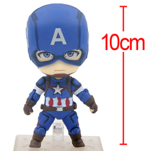 C&F Superhero Captain America Action Figure Steven  Rogers/Steve  Rogers Collection Model PVC Cosplay Toys Kids Gifts