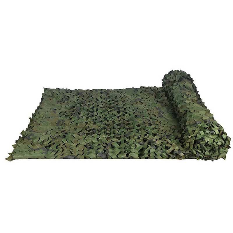 Toldo de terraza Red de camuflaje disponible en varios tama/ños, gris Camo color para la caza Disparar la decoraci/ón del hogar de acampar y deportes al aire libre persianas red de malla de camuflaje