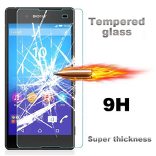 0.26mm Glass Screen Protector Case For Sony Xperia Z3 Z5 Compact Z1 Mini Z2 Z Z3 Plus Z4 E4G E4 T3 C3 C4 Dual M5 M2 M4 Aqua CASE(China)