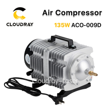 Cloudray 135W Air Compressor Electrical Magnetic Air Pump for CO2 Laser Engraving Cutting Machine ACO-009D(China)
