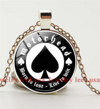 Popular Music band  born to lose live to win pendant necklace Hip hop necklace long chain necklace for fans