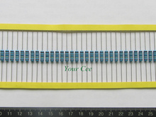 50pcs 1W Metal Film Resistor 220 ohm 220R 1% Tolerance Precision RoHS Lead Free In Stock