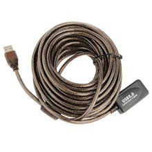 High Quality 10M USB 2.0 Extension Active/ Repeater 480 Mbp Active USB Extension Cable