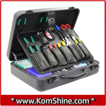 KomShine KFS-35E FTTH Fiber Optical Splicing Tool Kits Used With Fusion Splicer Inc OEM FC-6S Cleaver , Stripper ,Monkey Wrench