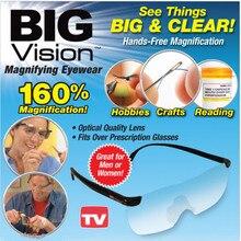 250/160 градусов большой видение Очки увеличительное очки дальнозоркостью Очки Вышивание Очки для чтения для женщин для пожилых людей(China)