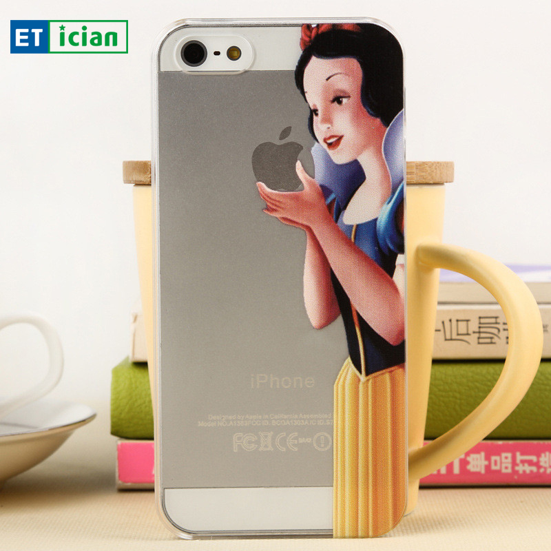 Cartoon Case For iPhone 4s Cute Characters Grasp Logo Plastic Back Cover For iPhone 4 4s Phone Cases(China (Mainland))