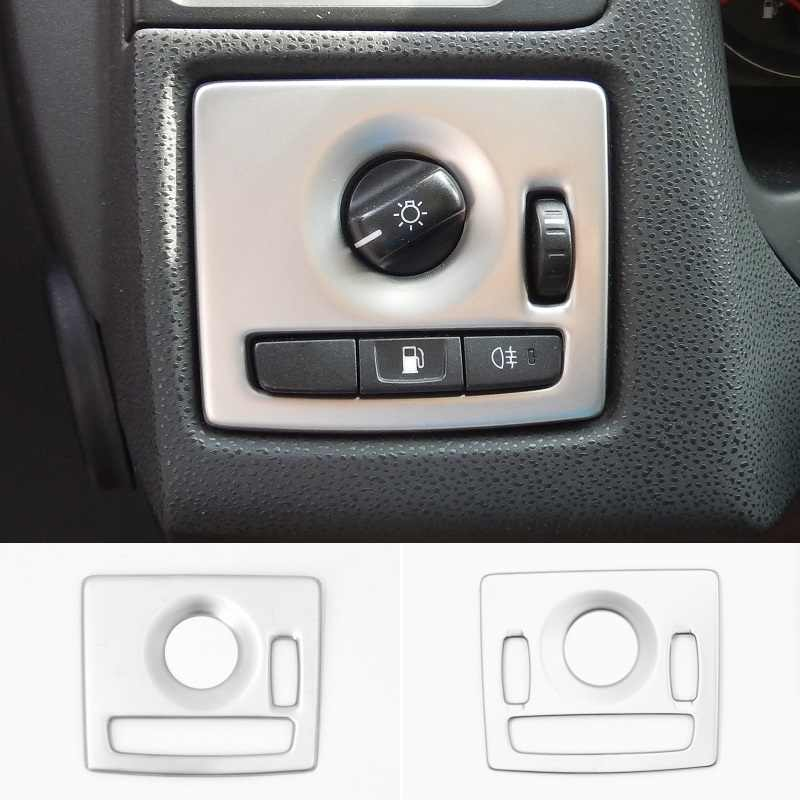 detail feedback questions about stainless steel head light lampstainless steel head light lamp switch button cover frame interior trim for volvo c30 s40 v50