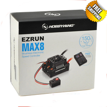 Hobbywing EZRUN Max8 V3 150A Waterproof Brushless ESC For RC 1/8 Traxxas E-REVO Traxxas Summit HPI Savage Thunder Tiger (T Plug)(China)