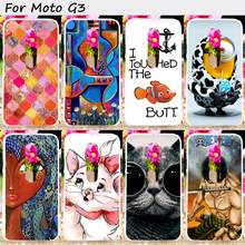 Hard Plastic&Soft TPU Cell Phone Cover For Motoroal Moto G3 G 3nd Gen. G+3 XT1540 XT1541 XT1542 Cases Mobile Phone Accessories