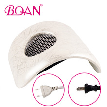 Powerful Motor Nail Dust Collector Manicure Nail Art Salon Suction With Exhaust Fan Acrylic UV Gel Machine Vacuum Cleaner Tool