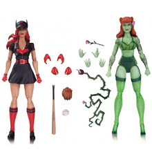 DC Batman PVC Action figure Batgirl and Poison Ivy Collectible Model Toys with box Christmas Gift(China)