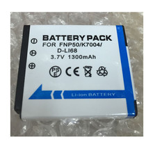 NP-50 FNP50 NP50 KLIC-7004 lithium battery D-Li68 Digital camera battery for Fujifilm X10 X20 XF1 F50 F75 F665 F775 F900(China)