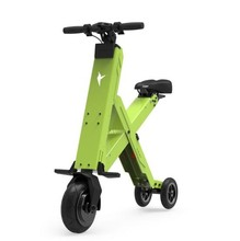 Foldable Electric Scooter Portable Mobility Scooter electric folding bicycle lithium battery Bike(China)