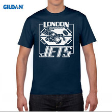 GILDAN London Jets T-Shirt 100% Premium Cotton Red Dwarf Inspired Lister Rimmer 100% Cotton Short Sleeve Summer T Shirt Top Tees(China)