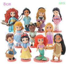 Little Mermaid Baby Girl Doll Toy Figure PVC figures Gift family toy Play house Mermaid Decoration