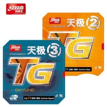 Original DHS NEO Skyline TG 2 TG (Quick Attack / Loop Drive) Pips-in Table Tennis (PingPong) Rubber With Sponge