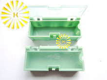 50pcs x #2 Green Color Capacitor Resistor SMT Electronic Component Mini Storage box Practical Jewelry Storaged Case