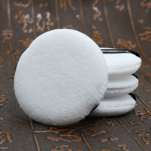 5pcs Soft Velvet Makeup Sponge Dry Face Powder Puff Beauty Tool Woman Facial Soft Cotton Sponges Pads for foundation(China)