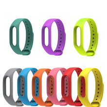 Smart Band Accessories Colorful Strap Wristband Xiaomi Band 2 Bracelet Strap Miband 2 Replacement Mi Band 2 Silicone