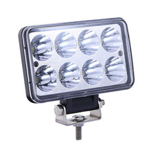 4 Inch 24W LED Work Light Square Spot Flood LED Car Lamp for Off Road Vehicle Motorcycle Truck 12V 24V High Quality(China)