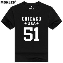 DICK BUTKUS 51 chicago custom made name number t shirt Illinois t-shirt team usa print text word blue red Richard Marvin clothes
