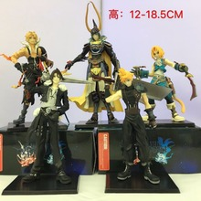 5 Pcs/lot Anime Final Fantasies Action figure Final of Fantasy Action & Toys Figure PVC collectible Model Toy 12-18.5cm