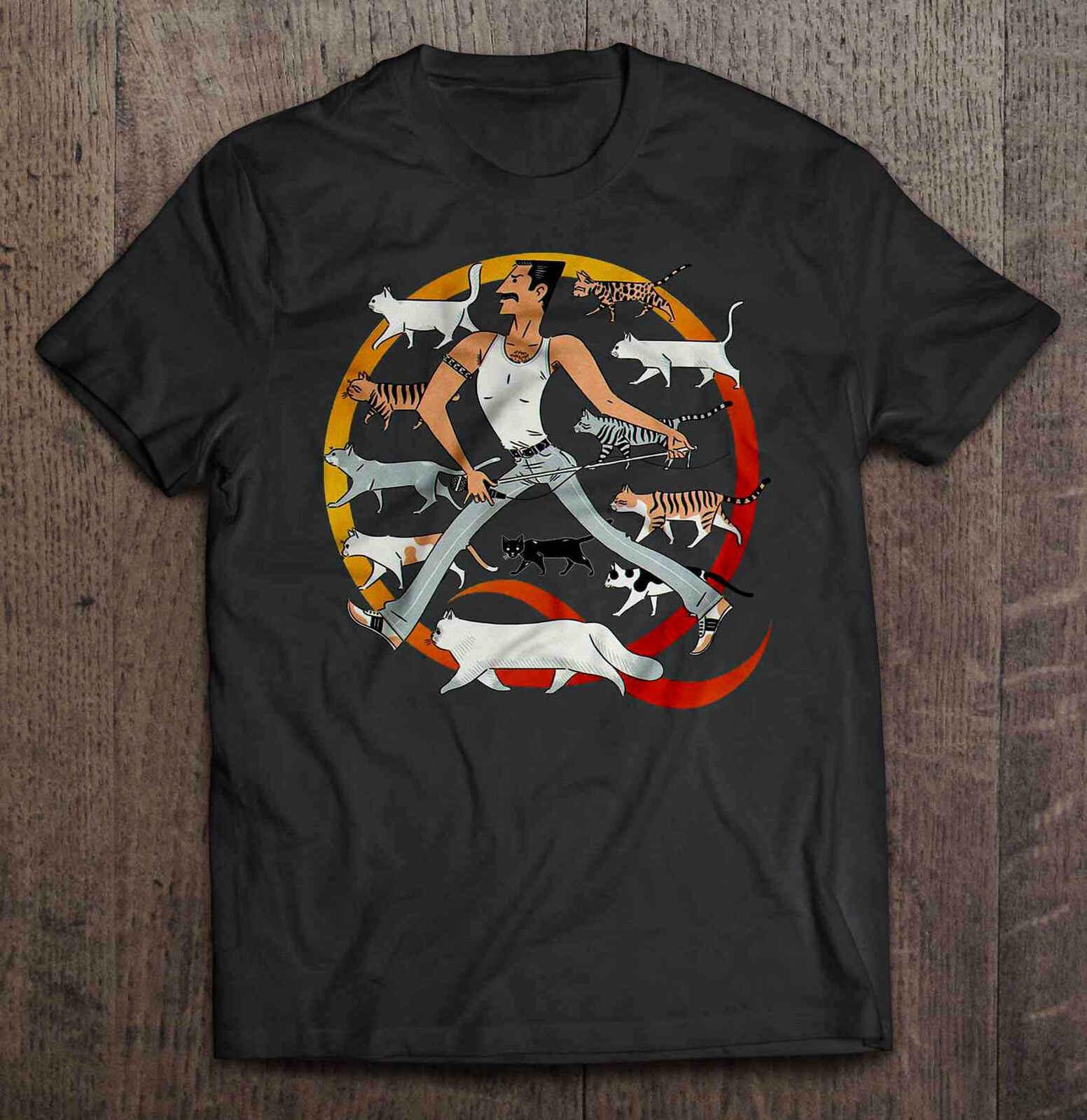 フレディマーキュリー 猫 シャツ