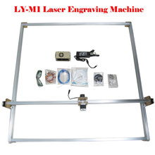 500MW laser cutter machine Mini DIY Laser Engraver Carving Size 100*100CM, free tax to Russia