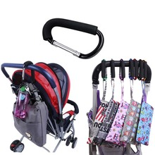 1pc Baby Stroller Hook Stroller Shopping Hook Accessories Pram Hooks Hanger for Baby Car Carriage Buggy LA878116(China)