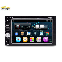 NAVITOPIA 6.2inch Quad Core Android 6.0 2G Universal Double 2DIN Car DVD Multimedia Player GPS Navigation Radio with disc(China)