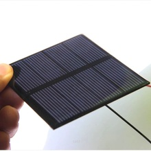 0.6W 2V Solar Cell Epoxy Polycrystalline Solar Panel Module+Cable DIY Solar Toy Panel Charger For 1.2V Study 10pcs/lot 82*70MM