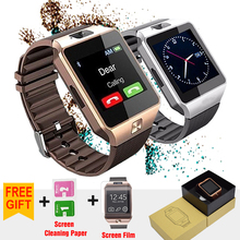 Smart Watch DZ09 Wearable Devices Bluetooth WristWatch Support TF SIM Card With Camera Smartwatch For IOS Android Multi language(China)