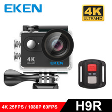 "100% Original EKEN H9R Ultra HD 4K WiFi Action cam with 2.4G Remote Control 2.0"" screen 30M waterproof sport mini cam"
