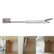 Adjustable Stays Kitchen Cabinet Door Lift Pneumatic Support Hydraulic Gas Spring Stay Hold Support Toy Box Hinges Lift Up Tool(China)
