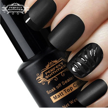 Perfect Summer Matt Top Coat Nail Art UV Gel Polish Matte Top coat  LED UV Soak Off  Nails Tools Hot Sale UV Gel Polish