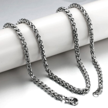 Buy Titanium Steel Chain Necklace Men's Jewelry Stainless Steel Men Chain Necklace Jewelry for $3.13 in AliExpress store