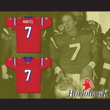Brett Cullen Eddie Martel 7 Washington Sentinels Home Football Jersey The Replacements Includes League Patch Free shipping(China)