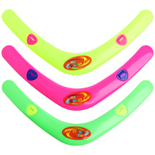 V Shaped Boomerang Frisbee Kids Plastic Toy Throw Catch Outdoor Game