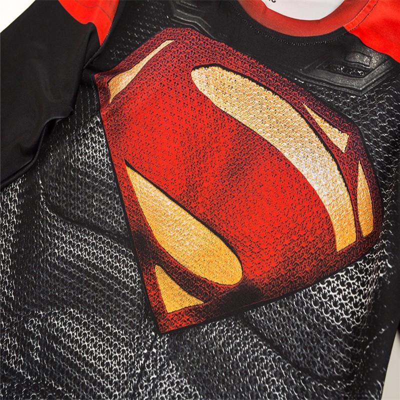 Marvel Gyms Clothing Fitness Compression Shirt Men Batman t-shirt men Long Sleeve 3D t shirt men Crossfit Tops tee shirt homme 39