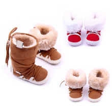 Buy New Baby Shoes Winter Warm Snow Boots Fleece Soft Soled Crib Toddler Sneakers First Walkers S01 for $3.60 in AliExpress store