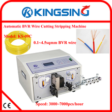 four wheels drive Wire Cutting and Stripping Machine KS-09C + Free Shipping by DHL air express (door to door service)