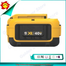 Free Shipping For Dewalt DCB406 40V MAX 6.0Ah/6000mah Lithium-Ion XR Tool Blower Trimmer Battery used