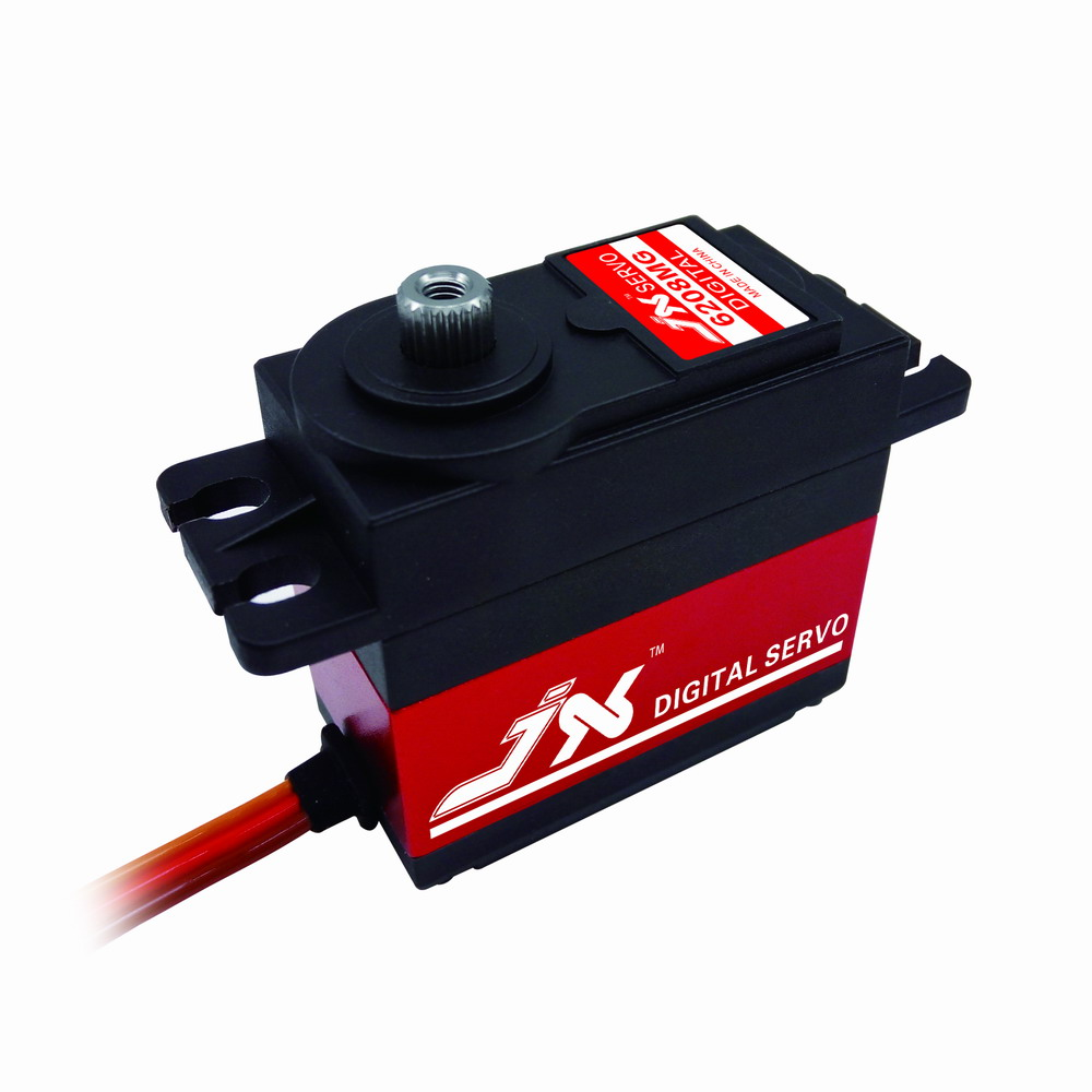 JX Servo/PDI fast 8-6208 mg/kg/metal teeth/flat car/drift car digital Servo<br>