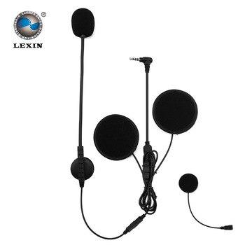 Lexin 2016 Date Détachable Casque Accessoires pour R6, R3 moto Bluetooth Casque Intercom Casque Stéréo son écouteur