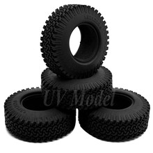 "4PCS/lot 98mm 1.9"" Rubber Rock Crawler Tires Wheel Tyres for 1:10 RC Rock Crawler Wheel AXIAL SCX10 Wraith CC01/F350 RC4WD"
