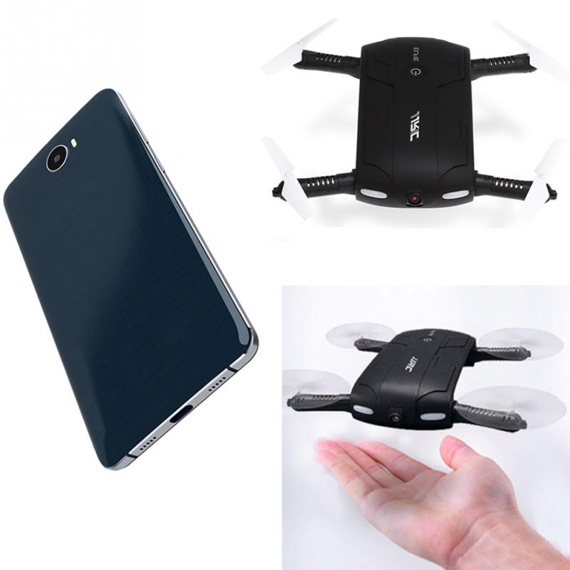 JJRC H37 Elfie Foldable 6-Axis WiFi RC Selfie Quadcopter Auto Return Gyro+Camera New Drone with Camera