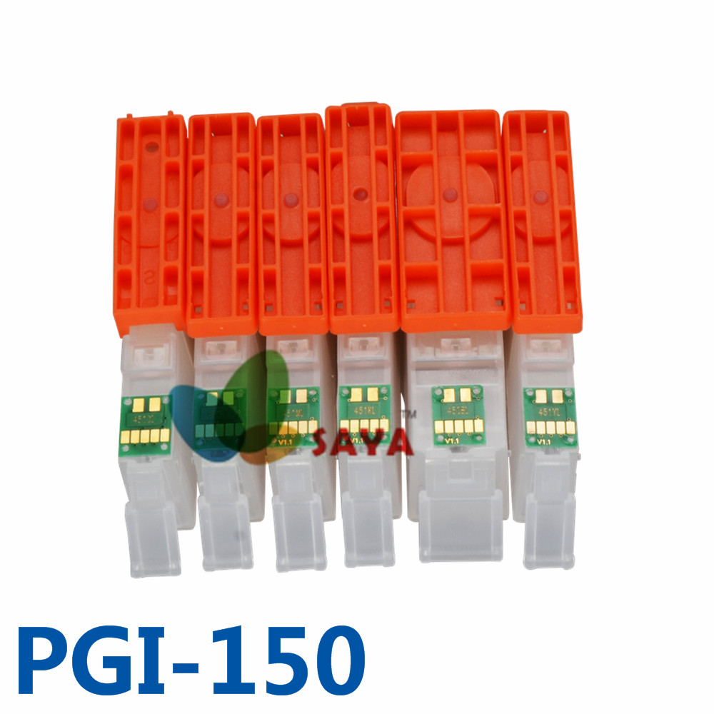 PGI-150 pgi150 Refill Cartridge For Canon PIXMA IP7210 MG5410 MG5510 MG6410 MG6610 MG5610 MX921 MX721 IX6810 printer ARC cli151<br><br>Aliexpress