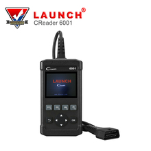 Launch CReader 6001 OBD2 Scan Tool Code Reader with Control of the on-Board System and Print data via PC(China)