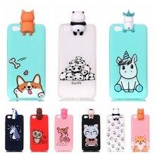 Xiaomi Redmi Note 5a Phone Case Cartoon Unicorn Panda Dog Silicone Case Cover Funda Xiaomi Redmi Note 5a 16GB Xiomi Case